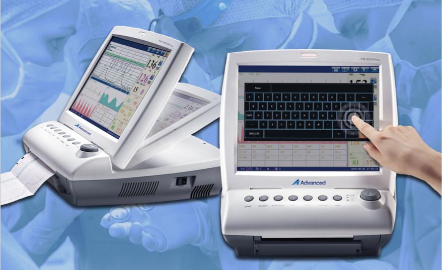 Monitor fetal FM 9000