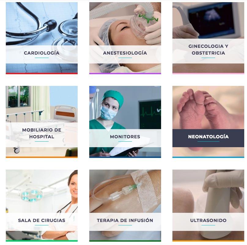 Renta de equipo medico en Ciudad de Mexico